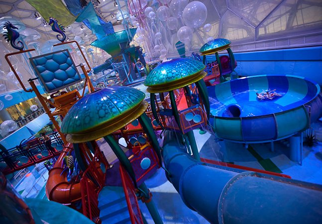 O parque aquático mais legal que você já viu