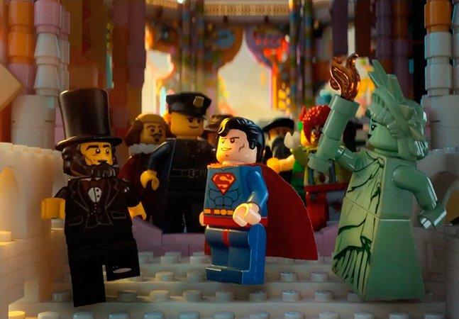 O primeiro filme feito com bonecos de LEGO chega aos cinemas em 2014