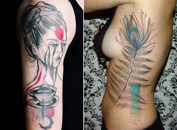 Arte na Pele: Conheça as tatuagens marcantes de Marta Lipinski