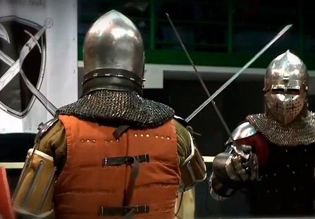 MMA estilo medieval: isso é real e acontece na Polônia