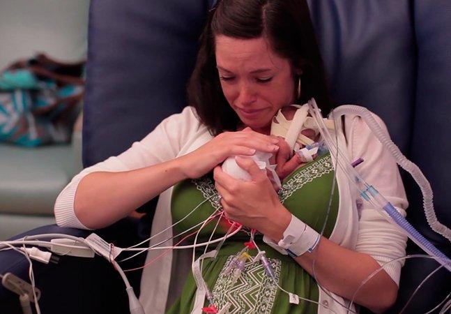 Pai cria vídeo emocionante mostrando primeiro ano de vida do filho prematuro