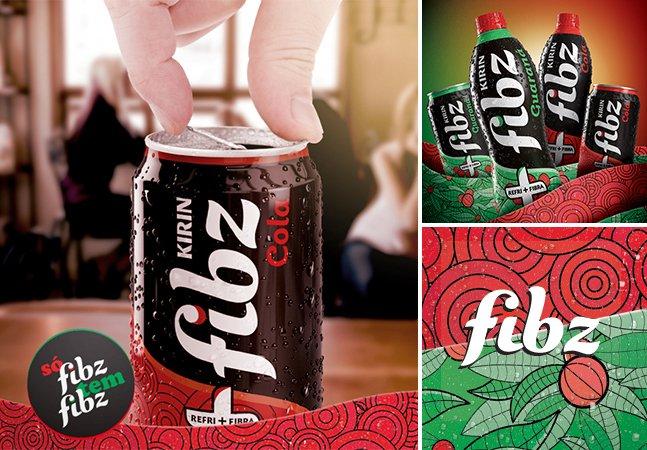 Reinventando o refrigerante: Fibz é a bebida que não te faz sentir culpado