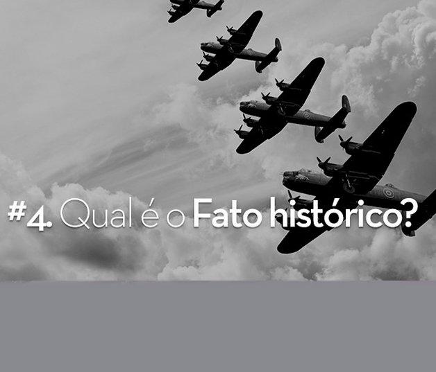 Adivinhe o fato histórico através de imagens e divirta-se!