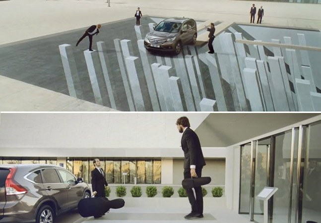 Marca usa perspectiva em um comercial que vai enganar os seus sentidos