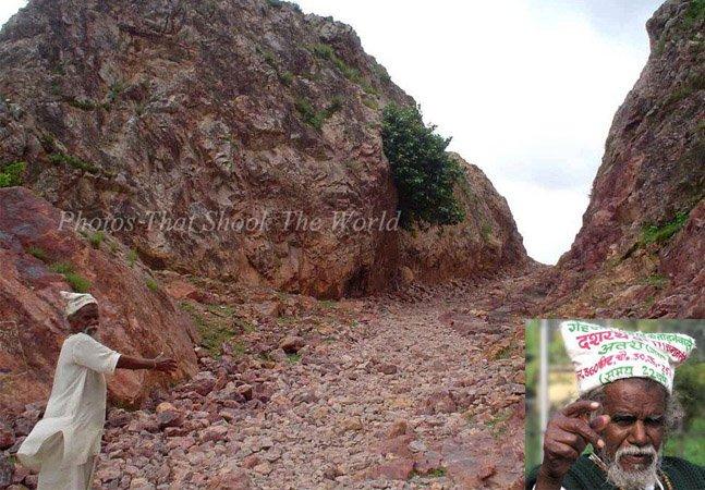 O homem que literalmente moveu uma montanha sozinho