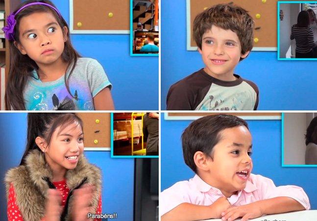 Vídeo mostra reação de crianças perante pedidos de casamento homossexuais