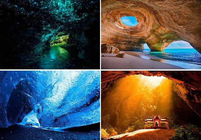 As 15 cavernas mais incríveis do mundo