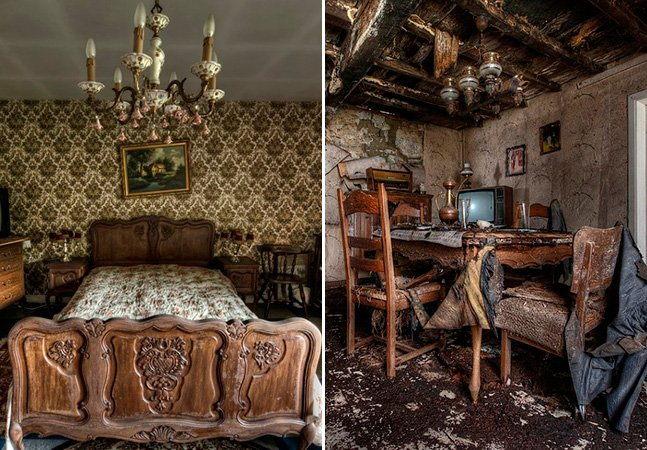 Fotógrafo registra casas abandonadas que parecem ter congelado no tempo