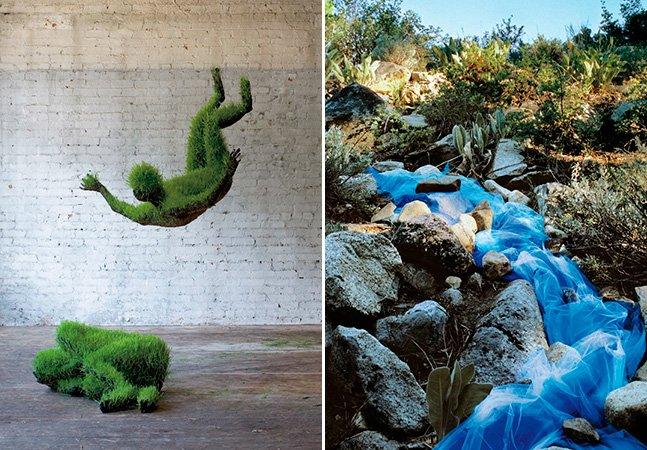 12 incríveis esculturas feitas com itens da natureza