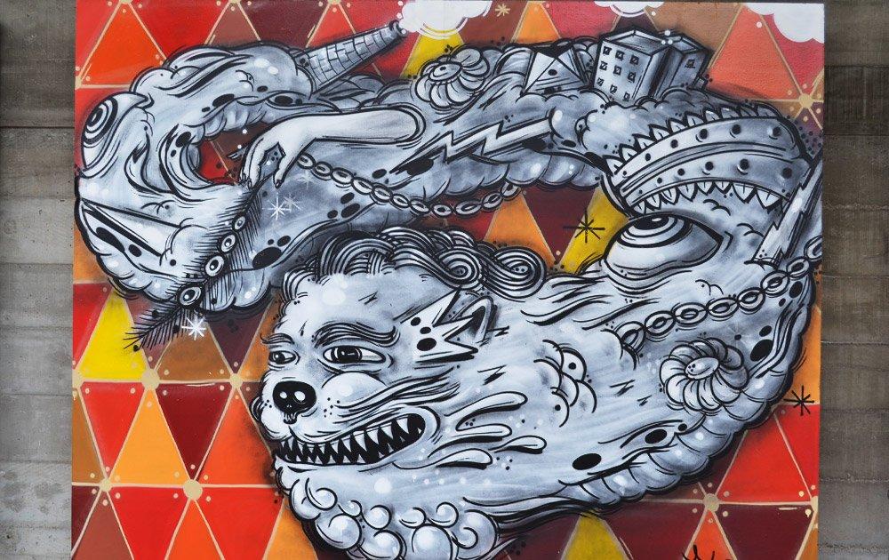 Graffiti Fine Art reúne arte de rua em murais e fotografias