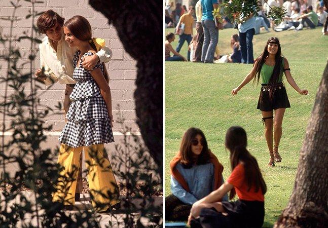 Série de fotos mostra como pessoas se vestiam pra ir pra aula nos anos 60