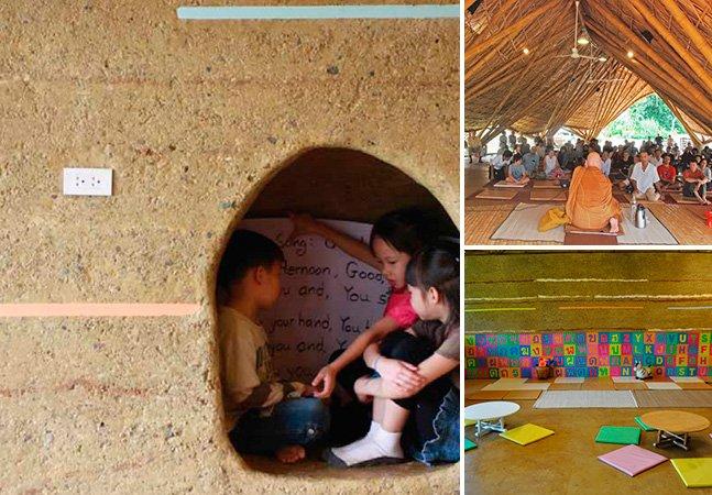 Entenda porque uma escola tailandesaganhou prêmio de design sustentável