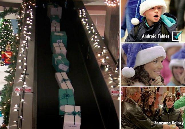 Empresa aérea realiza sonhos de Natal de seus passageiros