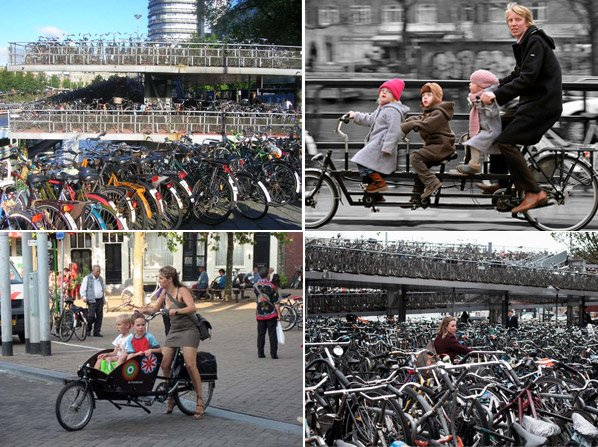 Mini documentário mostra porque e como Amsterdã se tornou a cidade dos ciclistas
