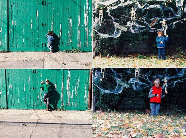 Menino de 2 anos cria série fotográfica em parceria com sua babá