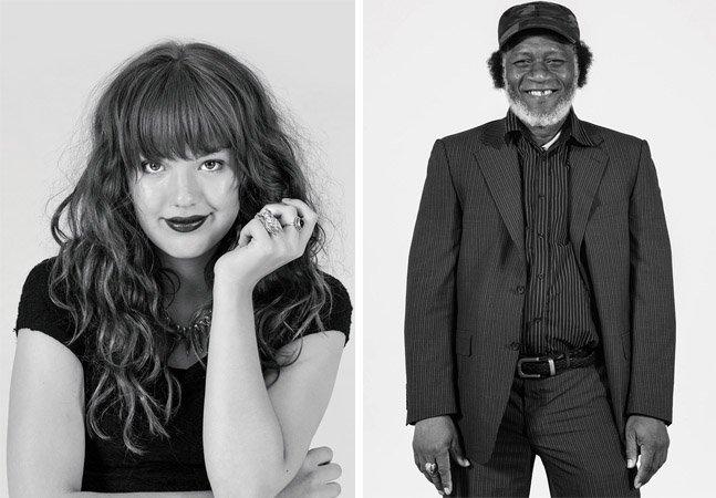 Fotógrafa faz série com moradores de rua retratando-os da forma escolhida por eles