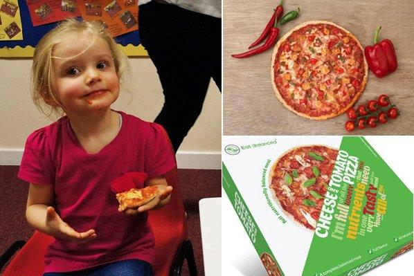 Empresa cria pizza feita de algas que pode (e deve!) ser comida 3 vezes ao dia