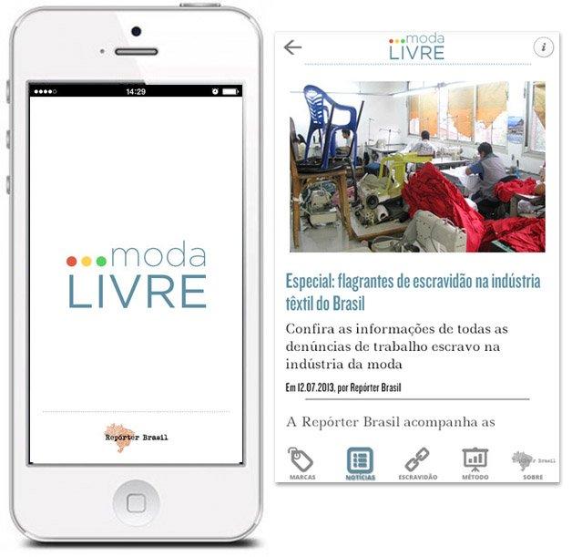 App permite saber que marcas de roupa brasileiras já usaram de trabalho escravo