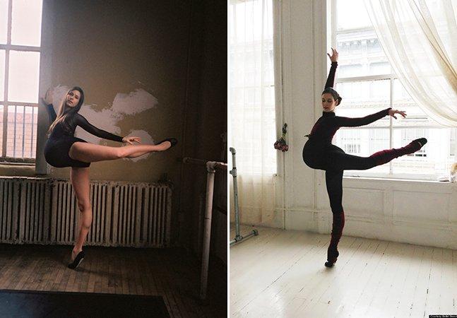 Ela escolheu dançar balé até o fim da gravidez e inspirou muitas mães pelo caminho