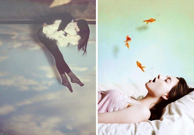 Talentosa fotógrafa de 21 anos cria série de retratos criativos e mágicos
