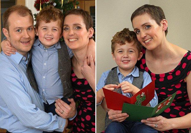 A emocionante história da mãe com câncer terminal que escreve cartas para o filho ler no futuro
