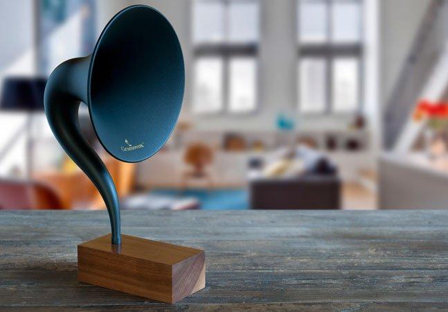 Passado encontra o presente: esse é o primeiro gramofone que funciona via bluetooth