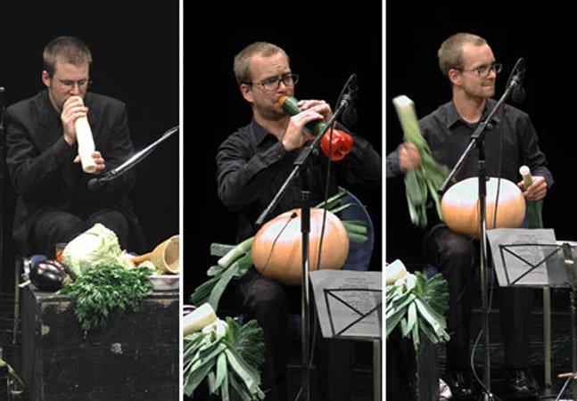 A orquestra que há 15 anos faz todos os seus concertos usando apenas vegetais