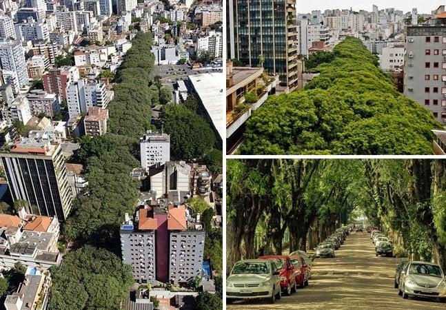 """A rua que ficou famosa por ser """"a mais bonita do mundo"""" fica no Brasil"""