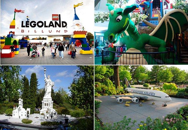 Conheça o parque de diversões da LEGO que tem 59 milhões de peças coloridas