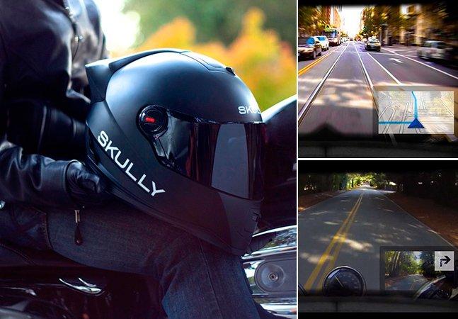 Capacete inteligente promete mudar a segurança dos motociclistas