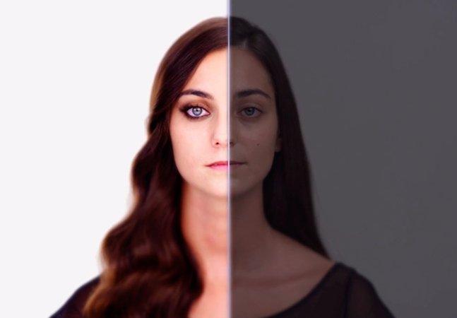 Pra criticar padrões de beleza impostos pela mídia, cantora é transformada pelo Photoshop durante clipe