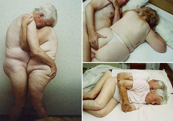 Fotógrafa quebra tabu e cria série fotográfica mostrando a intimidade e o sexo na velhice