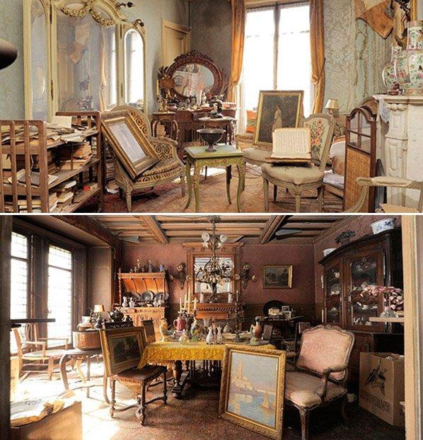Túnel do Tempo: Apartamento luxuoso fechado há mais de 72 anos é encontrado intocado em Paris
