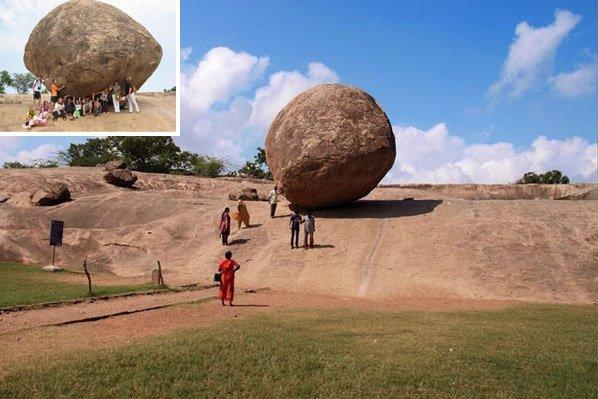 Essa pedra gigante virou atração turística por desafiar a gravidade