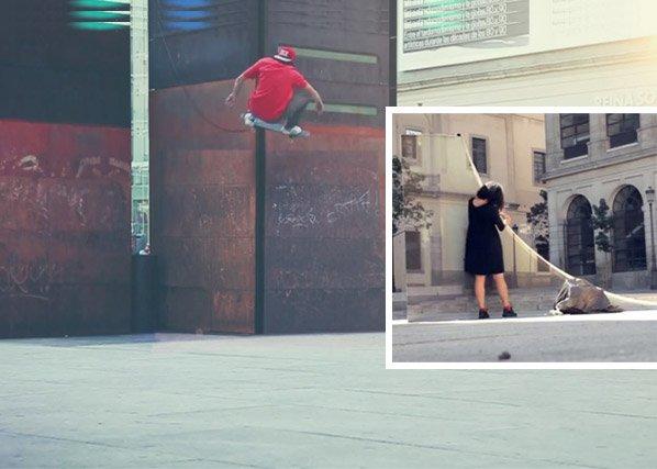 Marca cria rampa de skate invisível pra não interferir na paisagem urbana