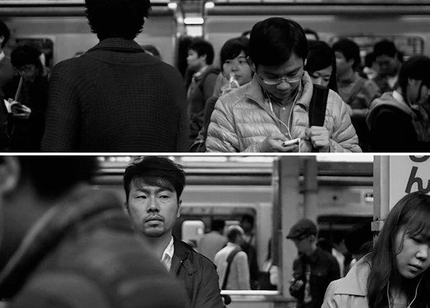 Ele inventou uma nova forma de filmar pessoas esperando o trem. O resultado vai te hipnotizar