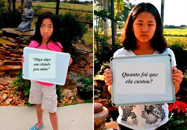 Para denunciar o preconceito, mãe divulga frases ditas acerca de suas filhas adotivas