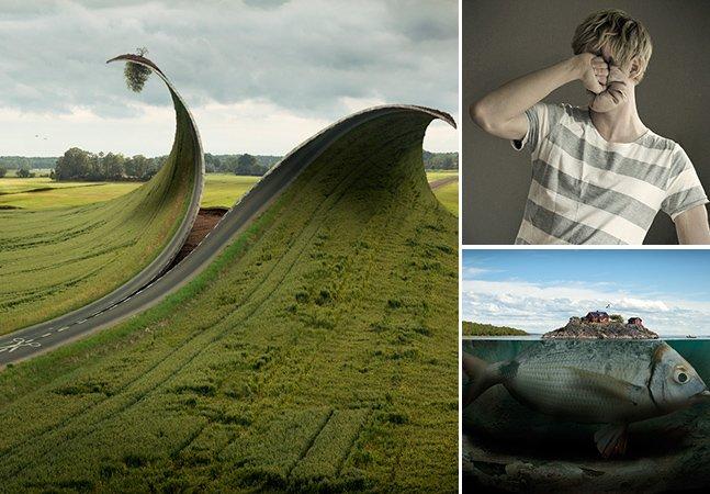 Fotógrafo sueco é dono do portfólio mais surreal que você já viu