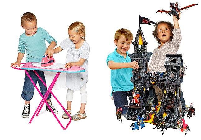 Finalmente uma marca decidiu parar de criar brinquedos só para meninas ou só para meninos