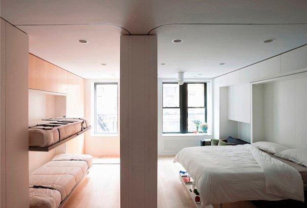 Veja como o design criativo pode fazer  milagres por um apartamento pequeno