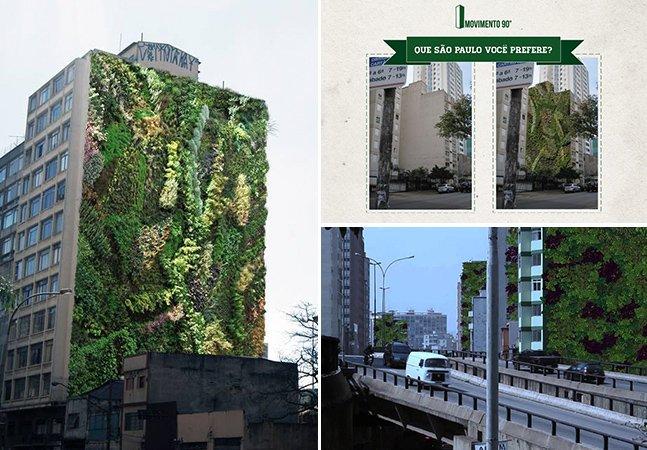 Conheça o trabalho de um dos maiores responsáveis por espalhar jardins verticais por São Paulo
