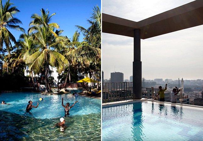 Fotógrafa viaja pelo mundo retratando piscinas fantásticas