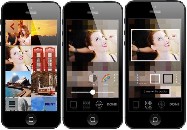 Aplicativo promete a impressão e envio gratuito de fotos