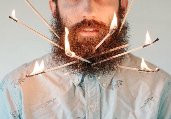 Tela é coisa do passado – conheça o homem que cria obras de arte na sua própria barba