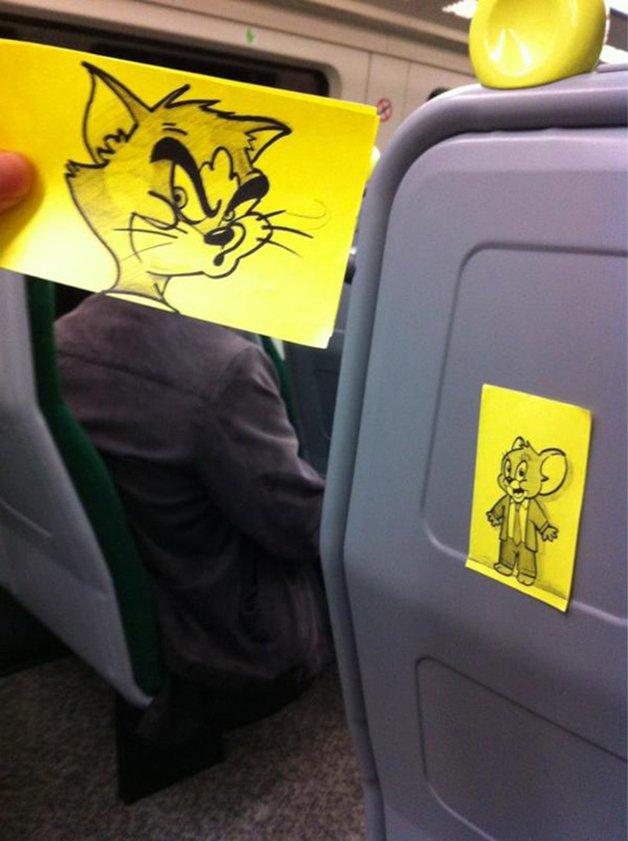 cartoon-faces-train-ride-october-jones-joe-butcher-2