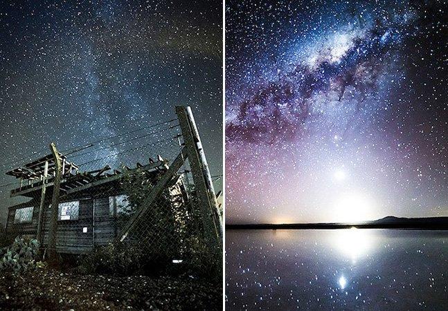 Fotógrafo capta as melhores fotos  do céu estrelado dos últimos tempos