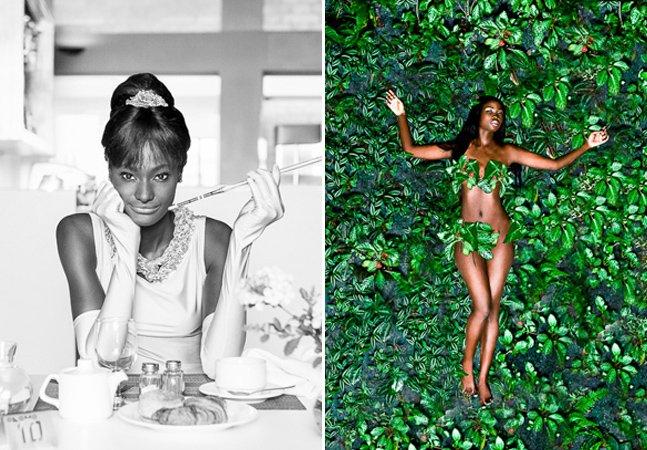 Fotógrafo questiona a falta de protagonistas negros no cinema com série de fotos impactante