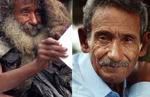 A emocionante história do morador de rua poeta que ficou conhecido pelo FB e reencontrou a família depois de 34 anos