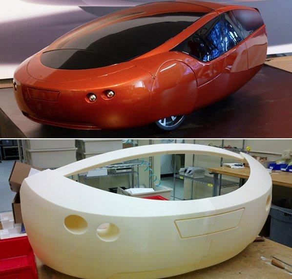 Carro inovador impresso em 3D consegue rodar 4700km com somente 10litros de gasolina