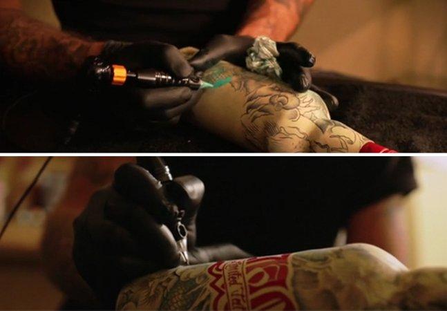 Estúdio francês mostra que é possível fazer tatuagens em garrafas